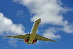 Groot vliegtuig Royalty-vrije Stock Foto's
