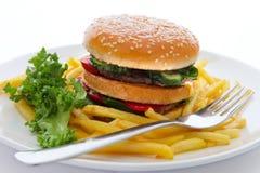 Groot voedsel Stock Afbeeldingen