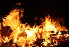 Groot Vuur. Royalty-vrije Stock Afbeelding