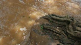 Groot watervallen en afzettingsgesteentendeel 11 royalty-vrije stock fotografie