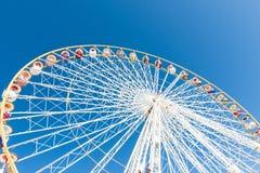 Groot wiel in de hemel Royalty-vrije Stock Foto