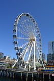 Groot Wiel in Seattle Royalty-vrije Stock Afbeeldingen