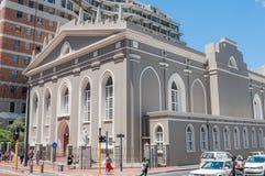 Groote Kerk (stor kyrka) i Cape Town arkivbild