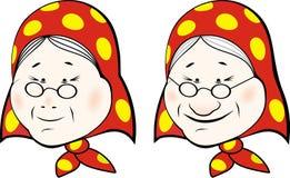 Grootmoeder (2) vector illustratie