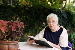 Grootmoeder Royalty-vrije Stock Afbeeldingen