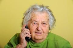grootmoeder stock afbeelding