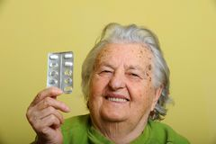 grootmoeder stock fotografie