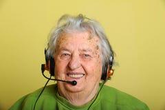 grootmoeder royalty-vrije stock fotografie
