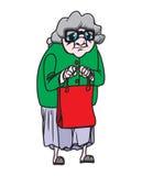 grootmoeder stock illustratie