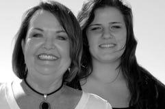 Grootmoeder en Grandaughter Stock Fotografie