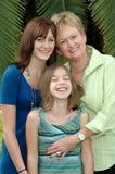 Grootmoeder en Grandaughters Royalty-vrije Stock Afbeeldingen