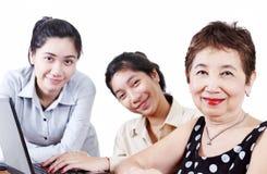 Grootmoeder en Kleinkinderen Royalty-vrije Stock Fotografie