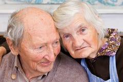 Grootouders Royalty-vrije Stock Afbeeldingen