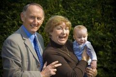 Grootouders Royalty-vrije Stock Foto's