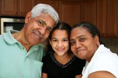 Grootouders stock foto