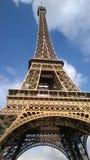 Grootsheid van de toren van Eiffel stock afbeelding