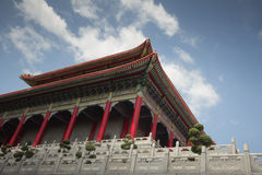 Grootste Chinese tempel Royalty-vrije Stock Afbeelding