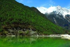 Grootste mooie aard met de smaragdgroene rivier Royalty-vrije Stock Foto