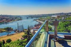 Grootste panorama van Gouden Hoorn van Pierre Loti-heuveltop Royalty-vrije Stock Afbeeldingen