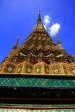 Grootste tempel in Thailand stock fotografie
