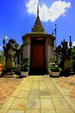 Grootste tempel in Thailand Stock Afbeelding