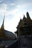 Grootste tempel in Thailand (de Tempel van Phra Kaew) royalty-vrije stock afbeelding