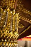 Grootste tempel in Thailand (de Tempel van Phra Kaew) Stock Afbeelding