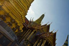 Grootste tempel in Thailand (de Tempel van Phra Kaew) Stock Fotografie