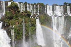 Grootste watervallen ter wereld Royalty-vrije Stock Afbeeldingen