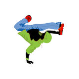 Groove dancer royalty free stock photo