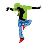 Groove dancer royalty free stock image