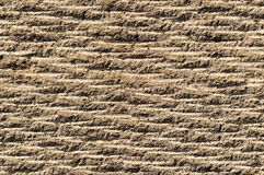Grooved asphalt or rock surface texture Royalty Free Stock Photography