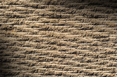 Grooved asphalt or rock surface texture Stock Photos