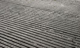 Grooved Concrete Stock Photo