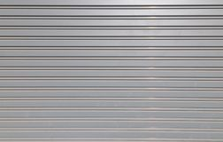 Grooved metal texture Royalty Free Stock Photography