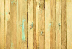 Grooved pine boards with knots. Top view of wooden table. Grooved pine boards with knots Royalty Free Stock Photos