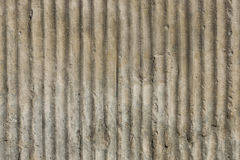 Grooved stone. Royalty Free Stock Image