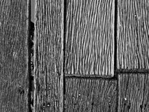 Hardwood floor texture and patterns of canal terrace Stock Photos