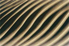 Grooves In Sand Stock Images