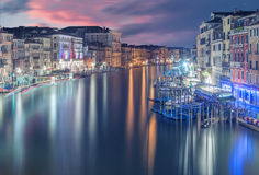 A Groovie Night in Venice Royalty Free Stock Photography