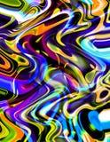 groovy στρόβιλοι Στοκ Εικόνα