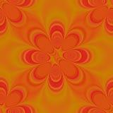 Groovy arancione Fotografia Stock Libera da Diritti
