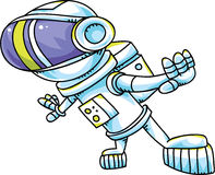Groovy Astronaut Stock Image