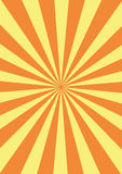 Groovy background. Vectorial groovy background - yellow and orange stock illustration