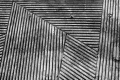 Groovy betonowa ściana z wzorem linie obraz royalty free