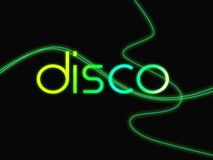 Groovy Disco Means Dancing Party And Music Stock Photos