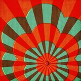 Groovy Flower Power Abstract Royalty Free Stock Images