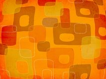 groovy fyrkanter Arkivbild
