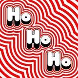 Groovy Ho Ho Ho Stock Images