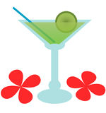 Groovy Margarita - Abbildung Lizenzfreies Stockbild